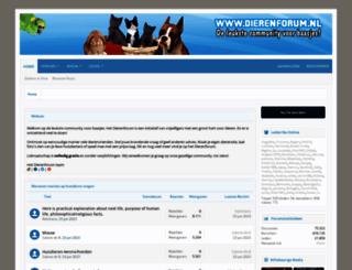 dierenforum.nl screenshot