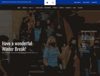 dierzen.woodstockschools.org screenshot