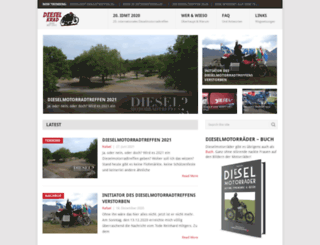 dieselkrad.info screenshot