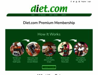 diet.com screenshot
