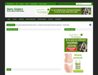 dieta-slabire.com screenshot