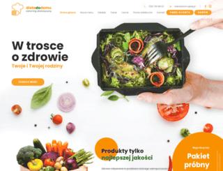 dietadodomu.pl screenshot