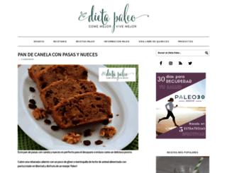 dietapaleo.org screenshot