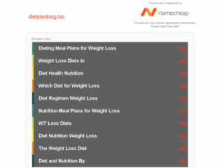 dietplanblog.biz screenshot