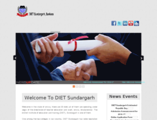 dietsundargarh.org screenshot