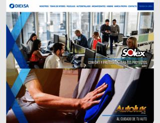 diexsa.com screenshot