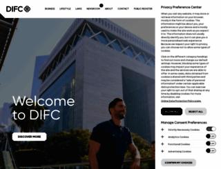 difc.ae screenshot