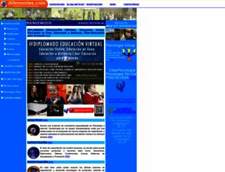 difementes.com screenshot