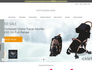 diffusionkids.com screenshot