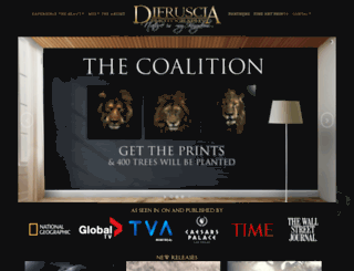 difrusciaphotography.com screenshot