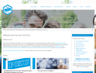 dig-pku.de screenshot
