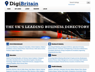digibritain.co.uk screenshot