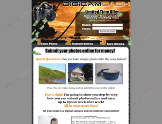 digicamcash.com screenshot