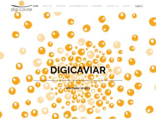 digicaviar.com screenshot