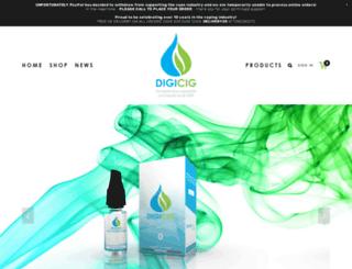 digicigs.co.uk screenshot