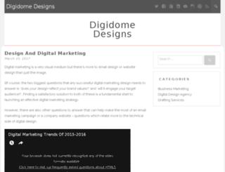 digidomedesigns.com screenshot