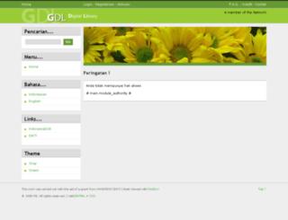digilib.unpas.ac.id screenshot