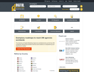 digimarketingagencies.com screenshot