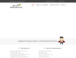 digimediainfotech.com screenshot