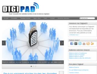 digipad.fr screenshot
