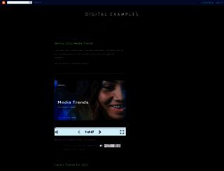 digital-examples.blogspot.fr screenshot