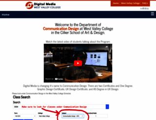 digital-media.westvalley.edu screenshot