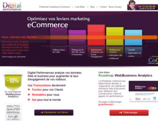 digital-performances.com screenshot