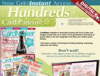 digital.cardmakermagazine.com screenshot