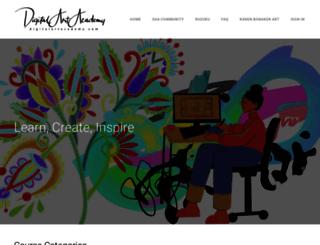 digitalartacademy.com screenshot