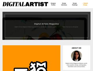 digitalartistmagazine.com screenshot