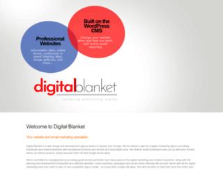 digitalblanket.com.au screenshot