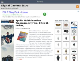 digitalcameraextra.com screenshot