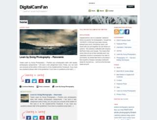 digitalcamfan.com screenshot