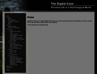 digitalcave.ca screenshot