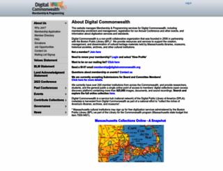 digitalcommonwealth.memberlodge.org screenshot
