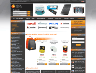 digitaldepo.eu screenshot
