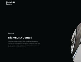 digitaldnagames.com screenshot