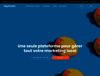 digitaleo.fr screenshot