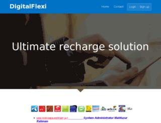 digitalflexi.net screenshot