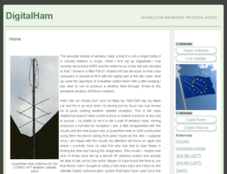 digitalham.co.uk screenshot