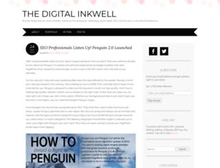 digitalinkwell.wordpress.com screenshot