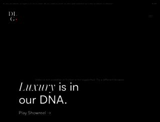 digitalluxurygroup.com screenshot