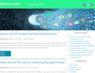 digitallyurs.com screenshot