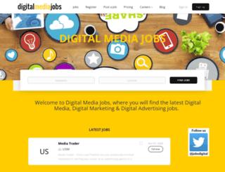 digitalmediajobs.com screenshot