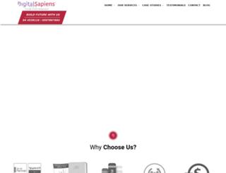 digitalmediasapiens.com screenshot