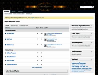 digitalmillionaires.com screenshot