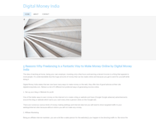 digitalmoneyindia.weebly.com screenshot