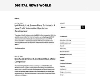digitalnewsworld.com screenshot