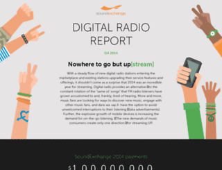 digitalradioreport2014q4.soundexchange.com screenshot