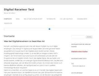 digitalreceivertest.net screenshot